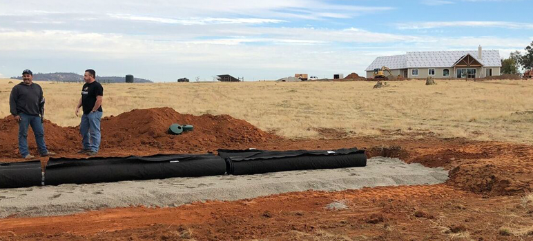 Residential Advanced Enviro-Septic System in Yuba County